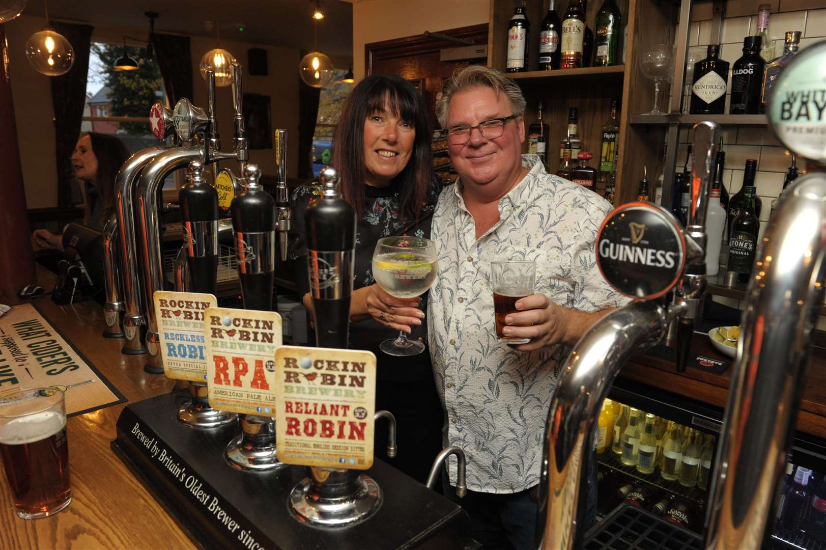The Rockin Robin at Barming, Maidstone is one of many locals that has offering takeaway beer in lockdown