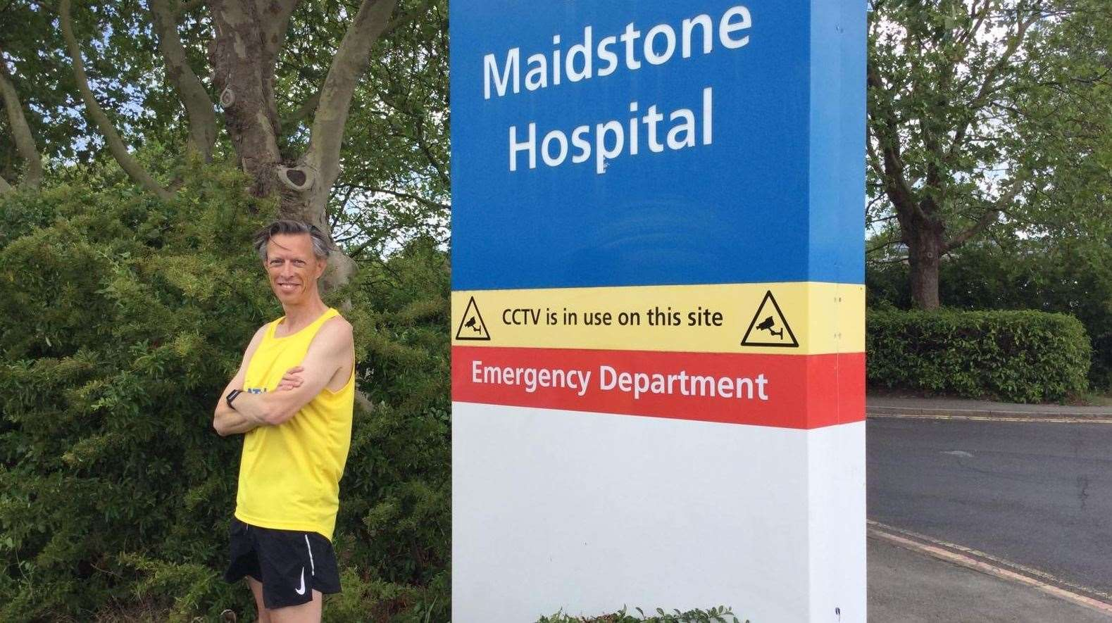 CEO Miles Scott is running the marathon between the trust's sites.