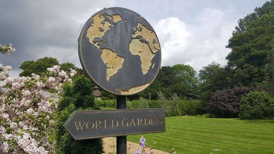 Lullingstone Castle is now home to the World Garden