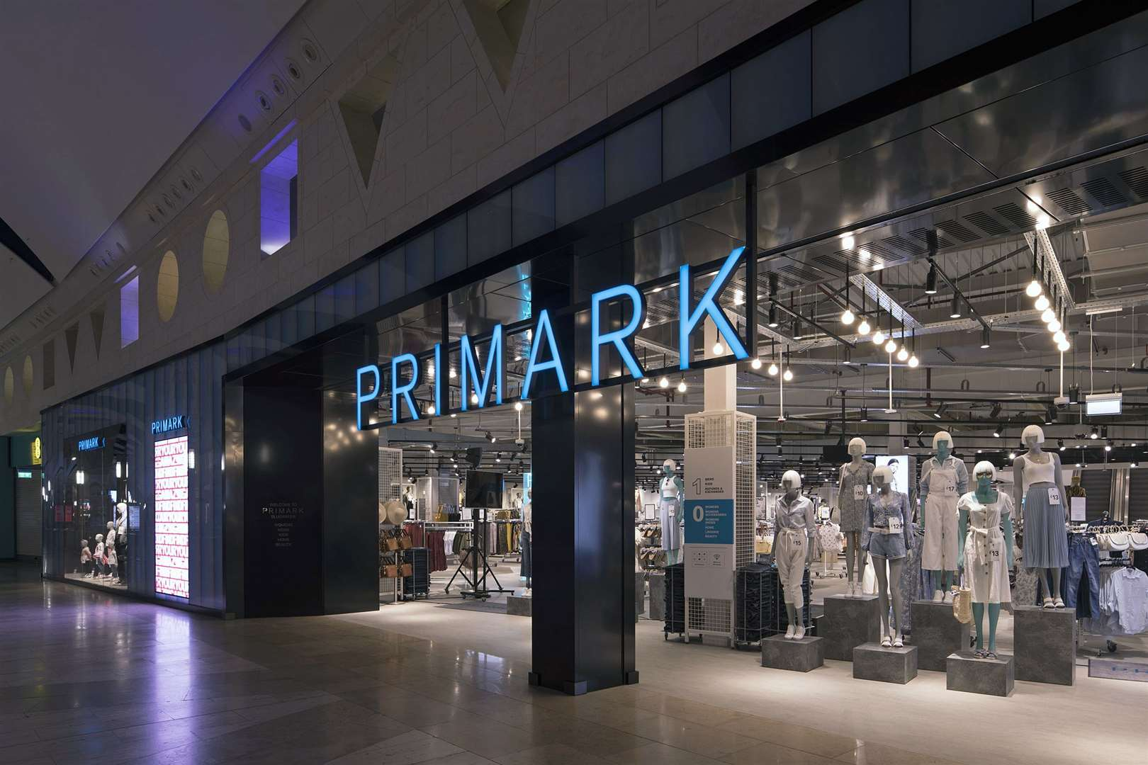 The Bluewater store will open for 24-hours a day. Picture: Primark