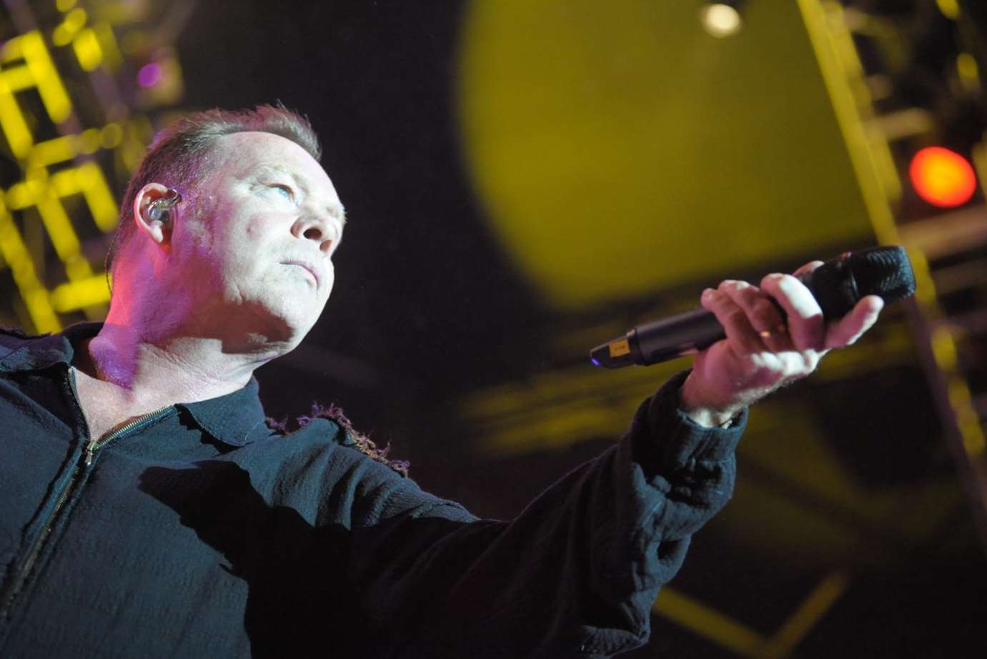 Ali Campbell with UB40 at the Castle Concerts in Rochester