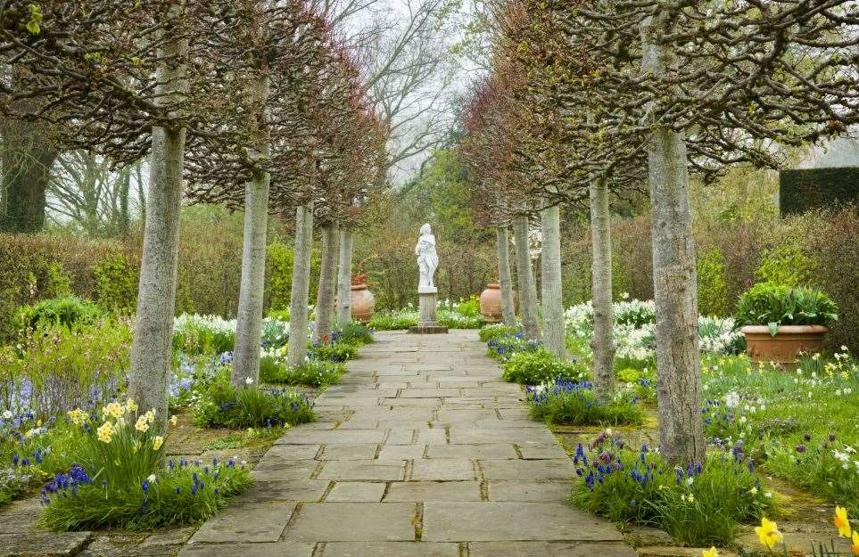 The Lime Walk at Sissinghurst Castle Garden will have less blooms but still be beautiful in winter