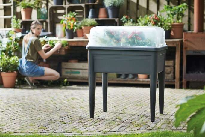 Elho's planter for herbs, tomatoes or flowers