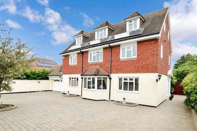 Five-bed detached house in Godwyn Road, Folkestone. Picture: Zoopla / Fine & Country