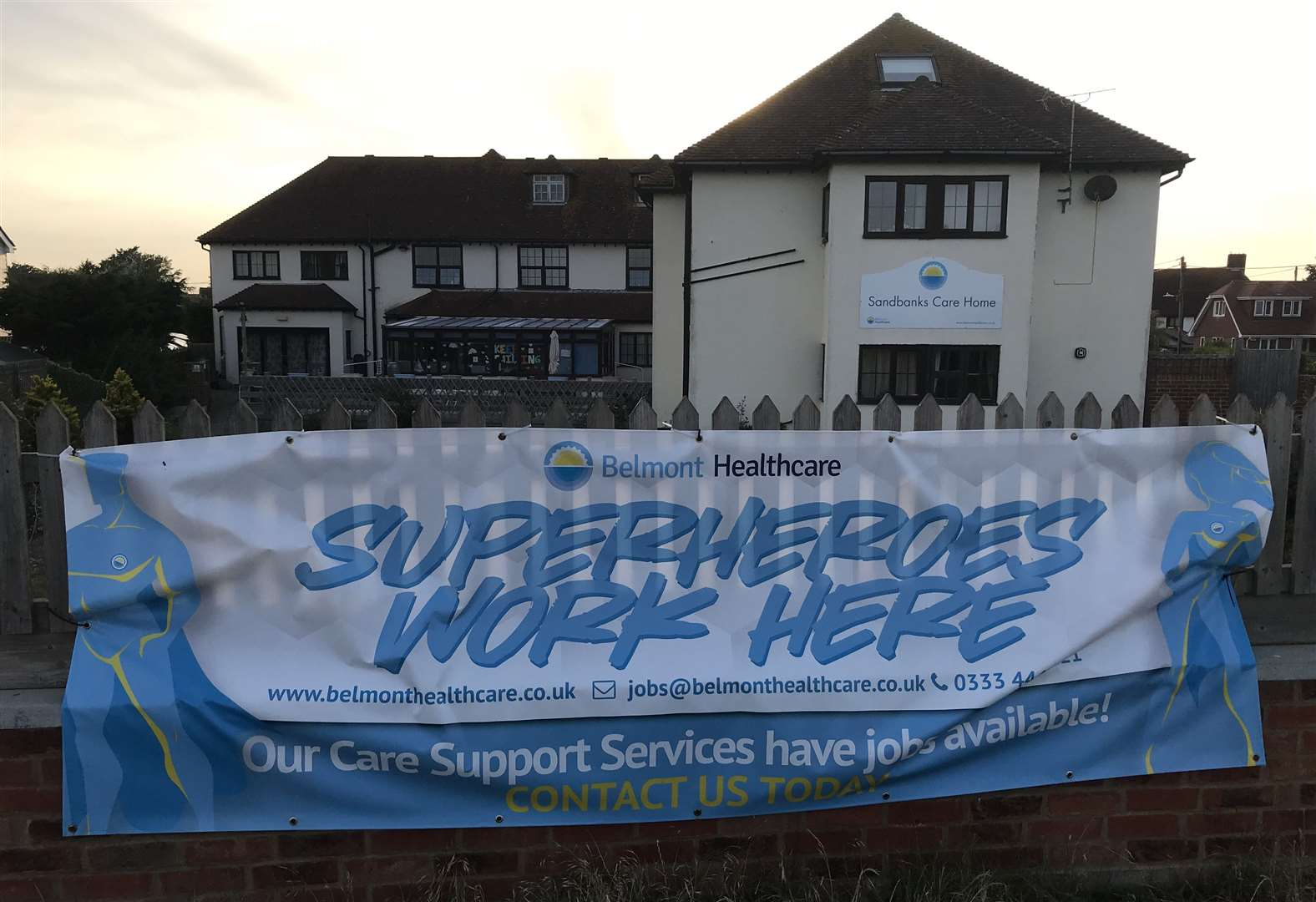 Sandbanks Care Home will close and plans are afoot to transform it into flats