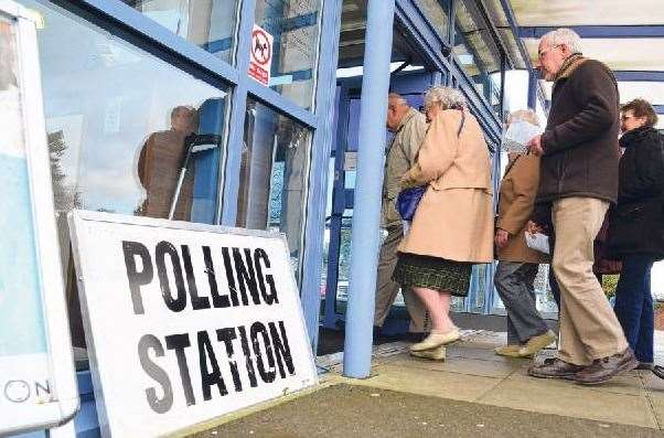 Polling Stations open at 7am