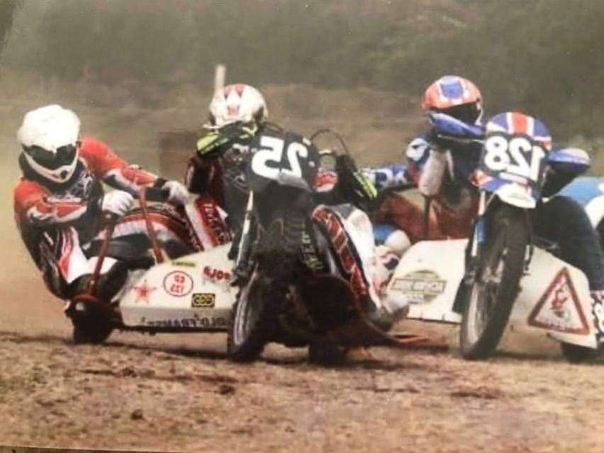 Mr Bell got into sidecar racing at an early age
