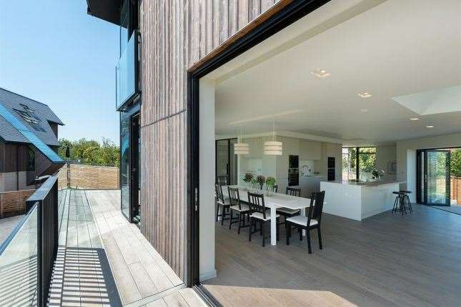 The house has a cinema and gym. Picture: Zoopla / Christopher Hodgson