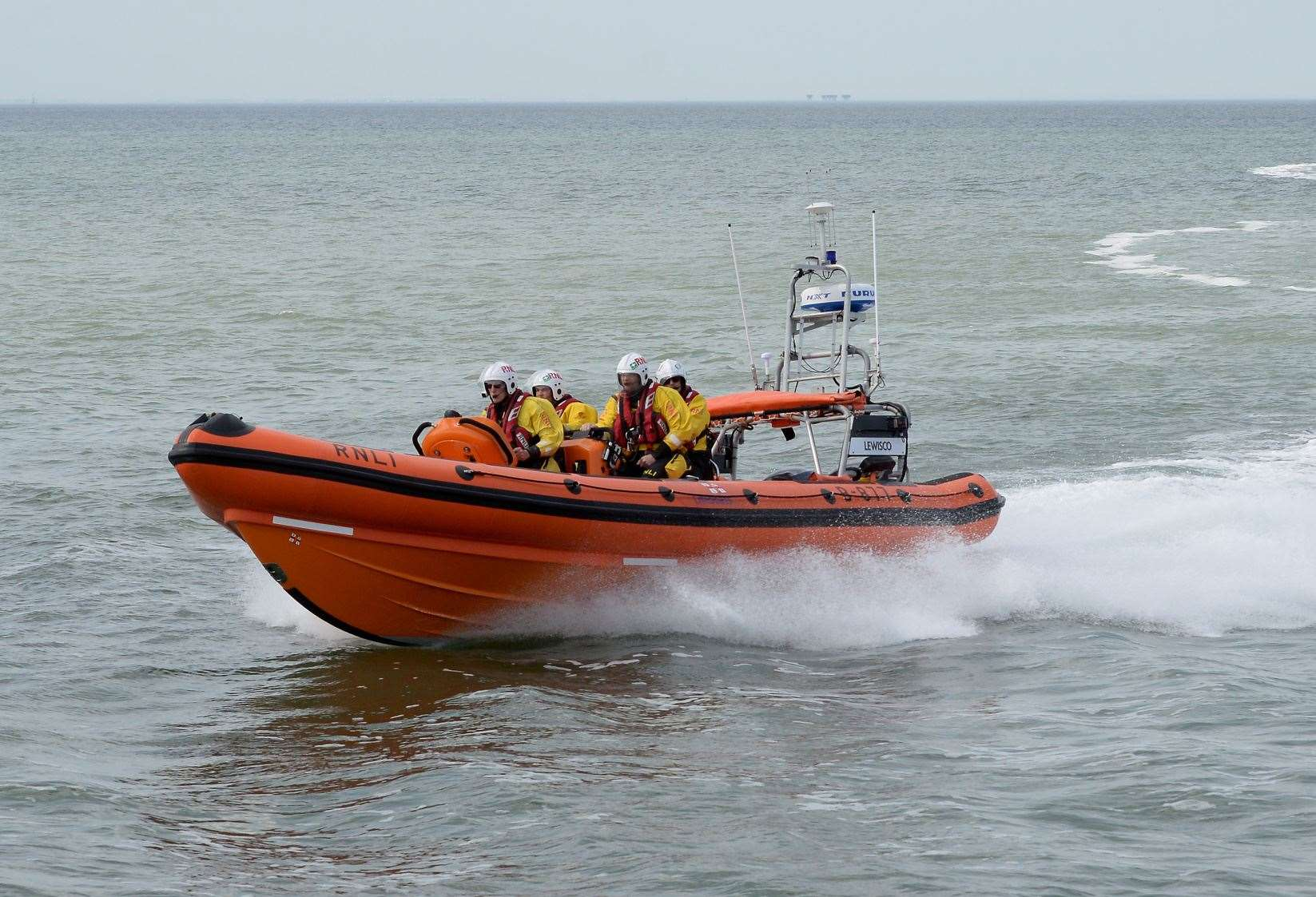 Whitstable Lifeboat. RNLI Whitstable stock image. (13490714)