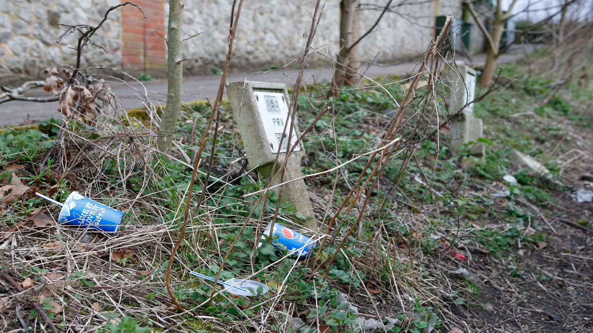 Litter like this on Sandling Road, Maidstone, is a blight onroads across the county