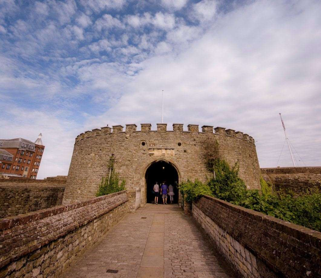 Deal Castle is set to reopen Picture: Jim Holden/ English Heritage
