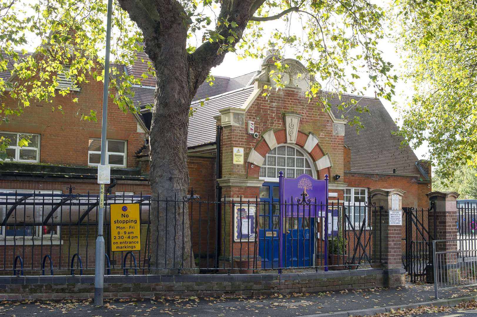 Copperfield Academy, formerly Dover Road Primary, in Northfleet