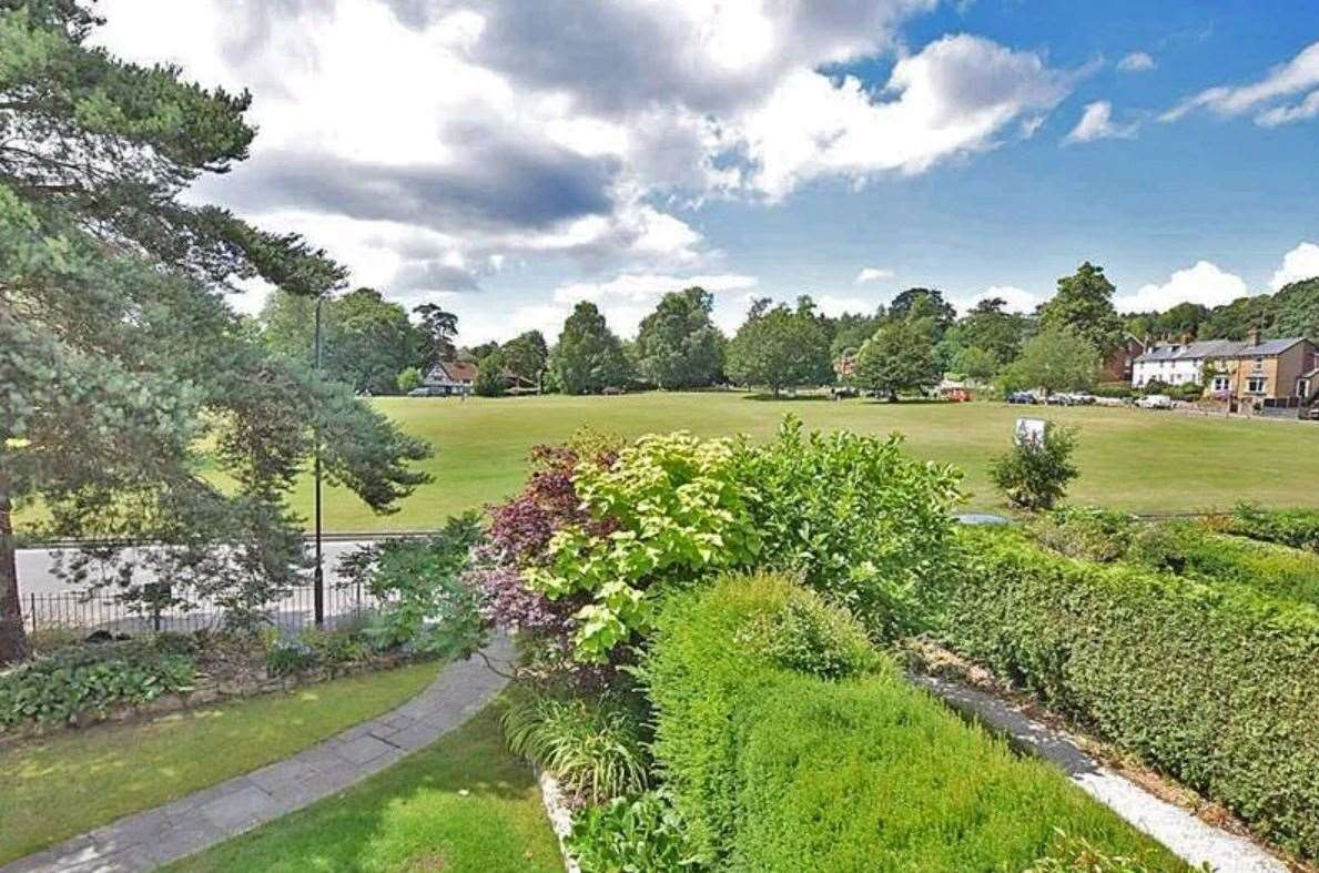 The 'breathtaking views' over the village green. Picture: Zoopla / Ferris & Co