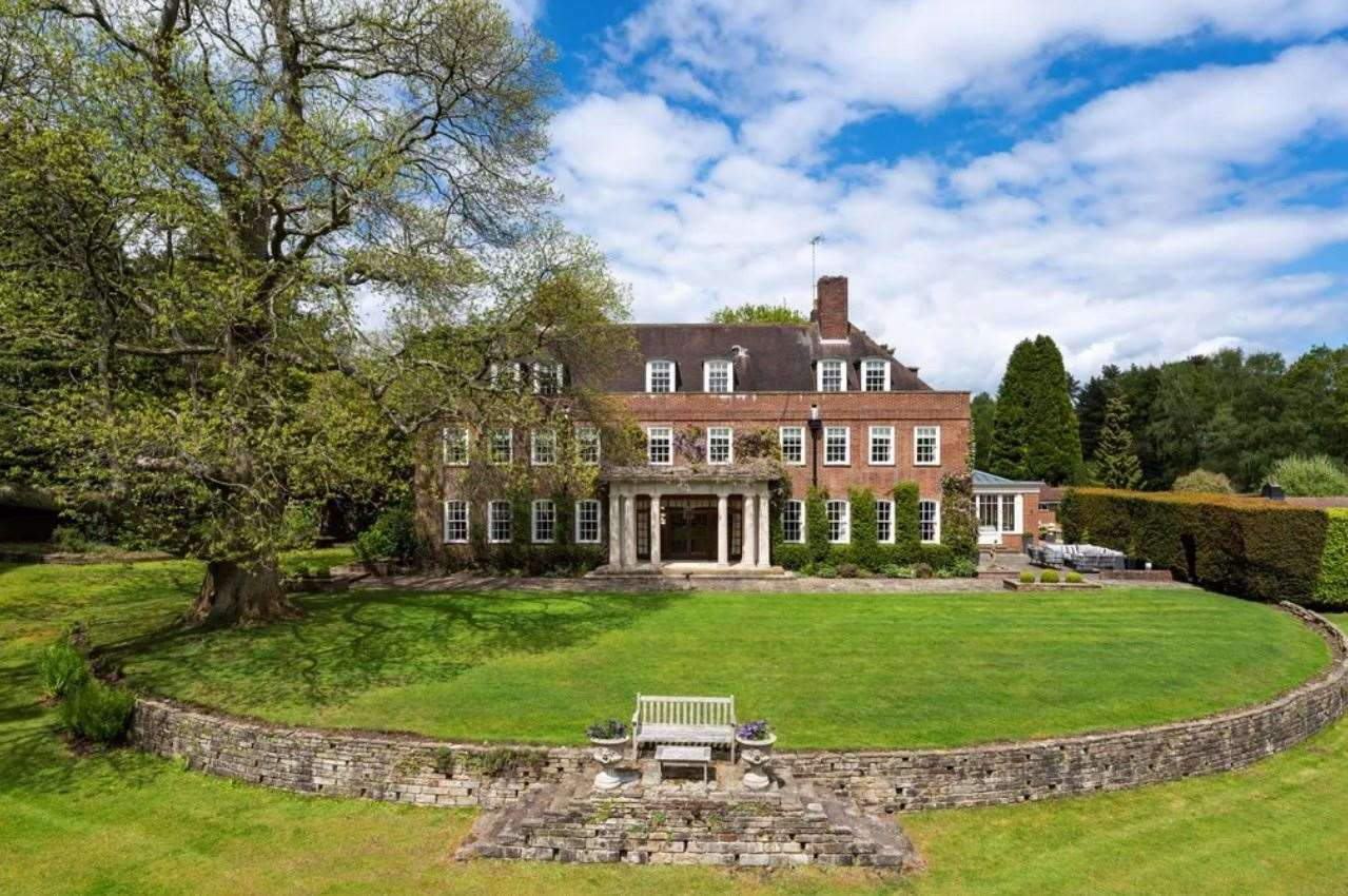 The nine-bed detached house in Ide Hill. Picture: Zoopla / Knight Frank