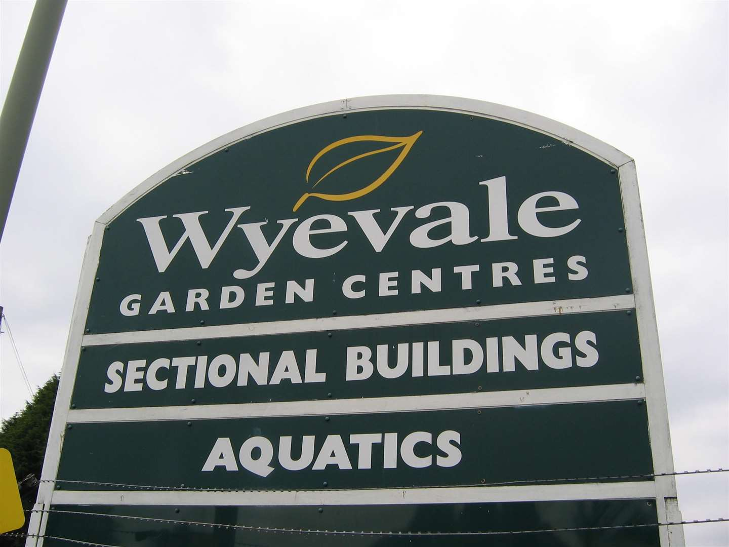 Wyevale centres are all up for sale