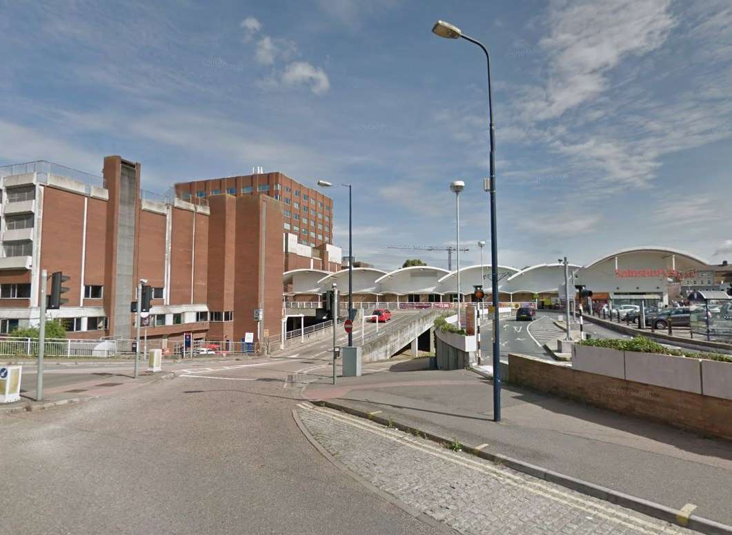 A view of Sainsbury's in Romney Place, Maidstone. Picture: Google Maps