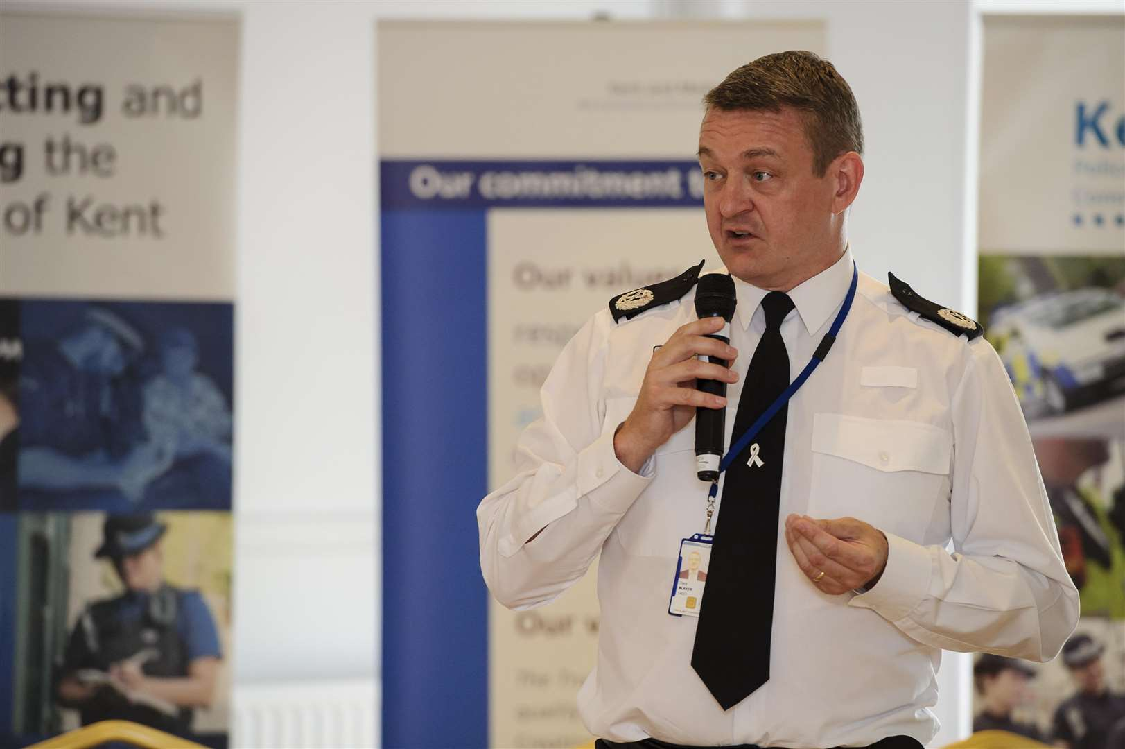 Deputy Chief Constable Tony Blaker. Picture: Andy Payton