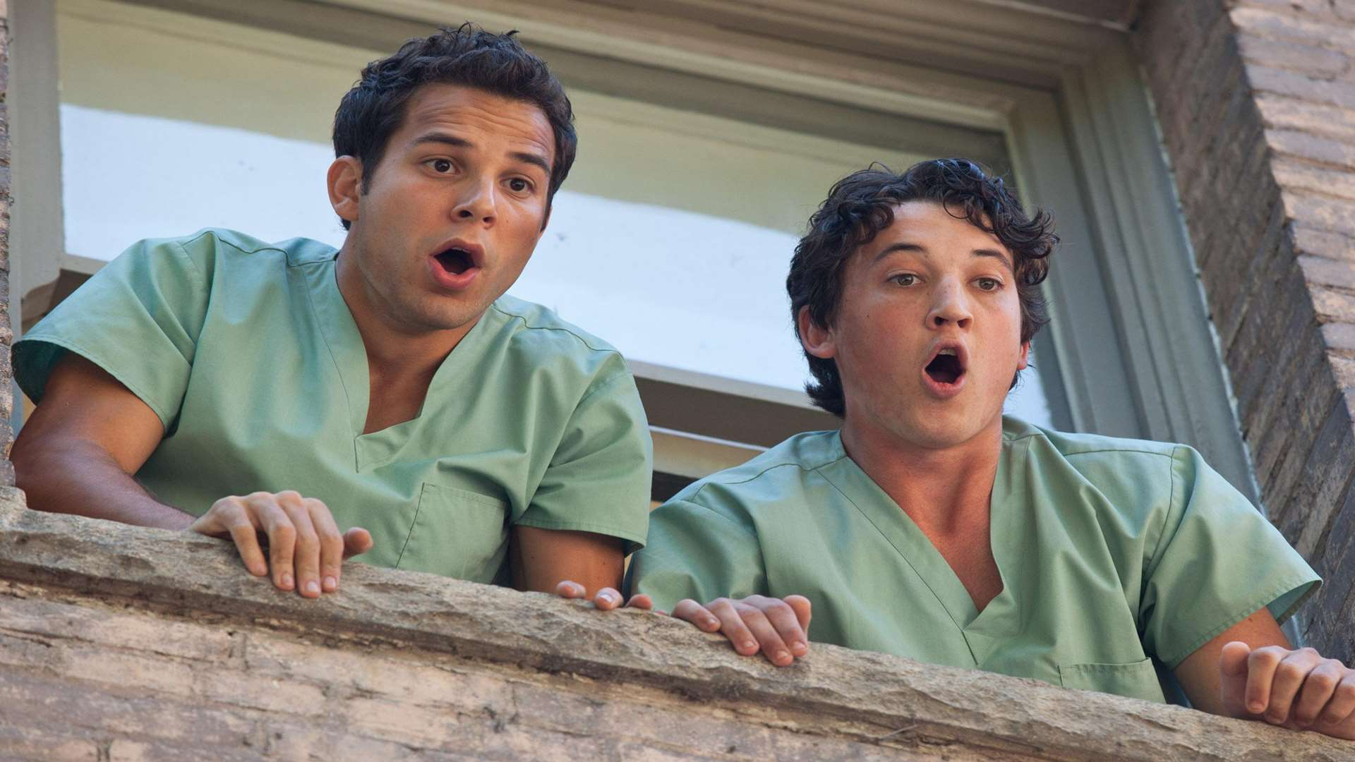 Miles Teller and Skylar Astin in 21 & Over.Credit: PA Photo/Entertainment One.