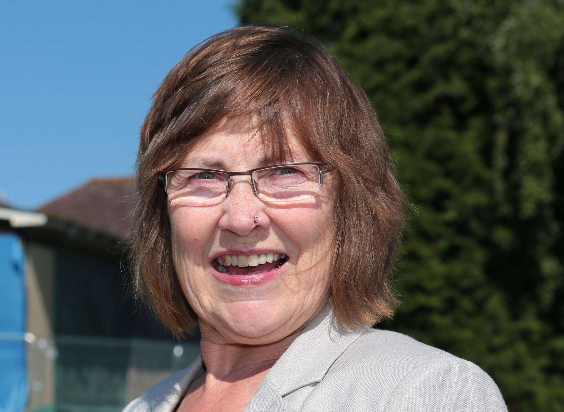 Cllr Fay Gooch shares the concerns of many in Barming. Picture: Martin Apps