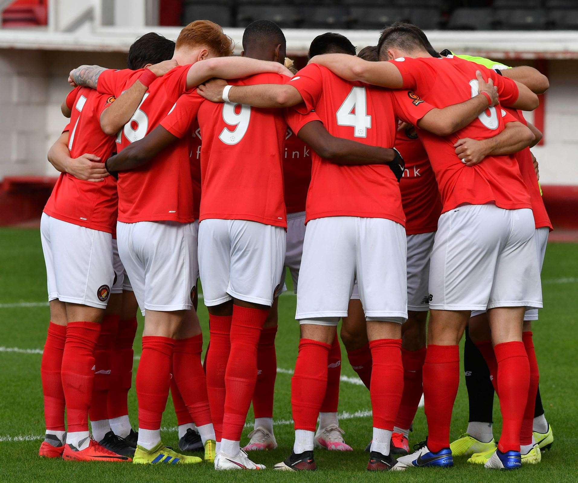 Ebbsfleet ended their long wait for a league goal against Concord on Tuesday night. Picture: Keith Gillard