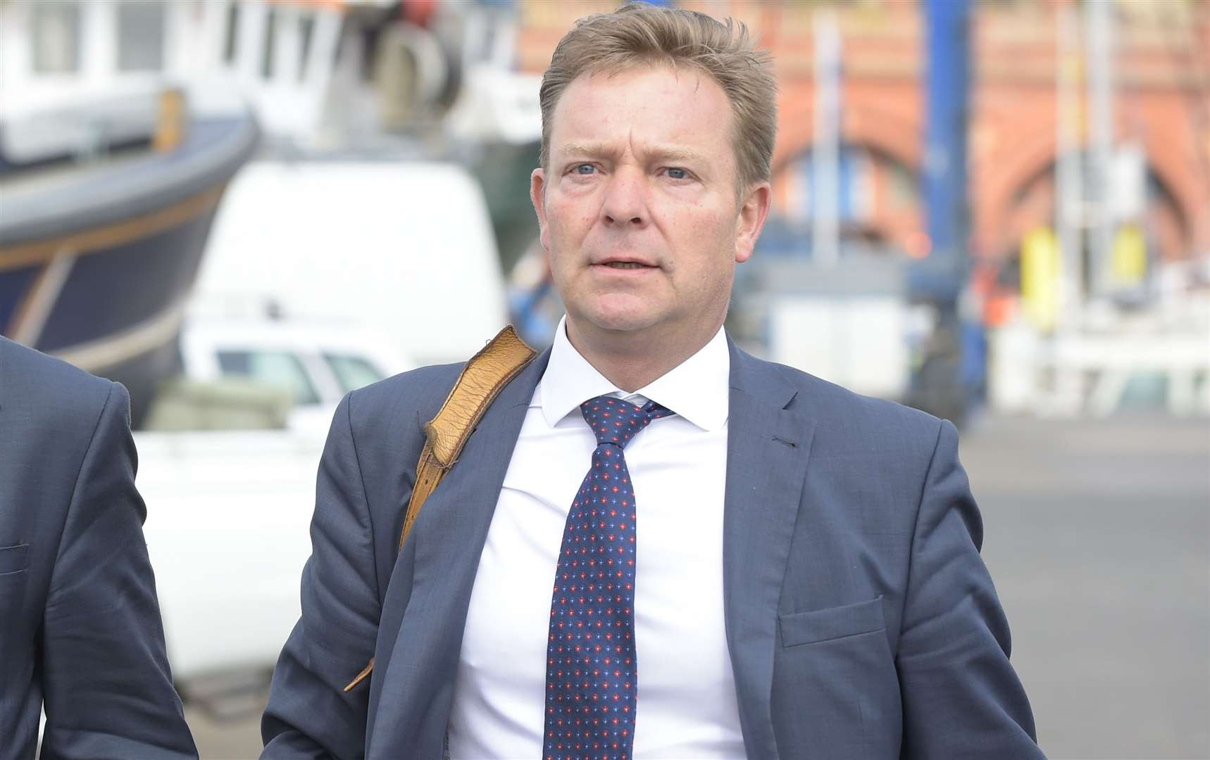 "MP Craig Mackinlay says Universal Credit is ""strengthening work incentives"""