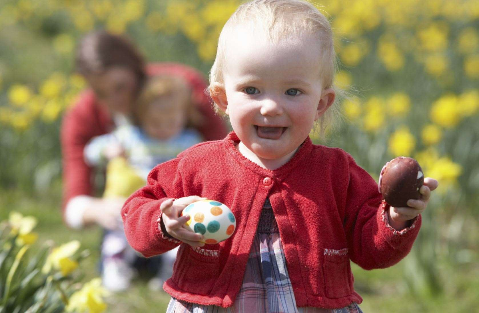 There's bucket loads of Easter egg hunts this long weekend