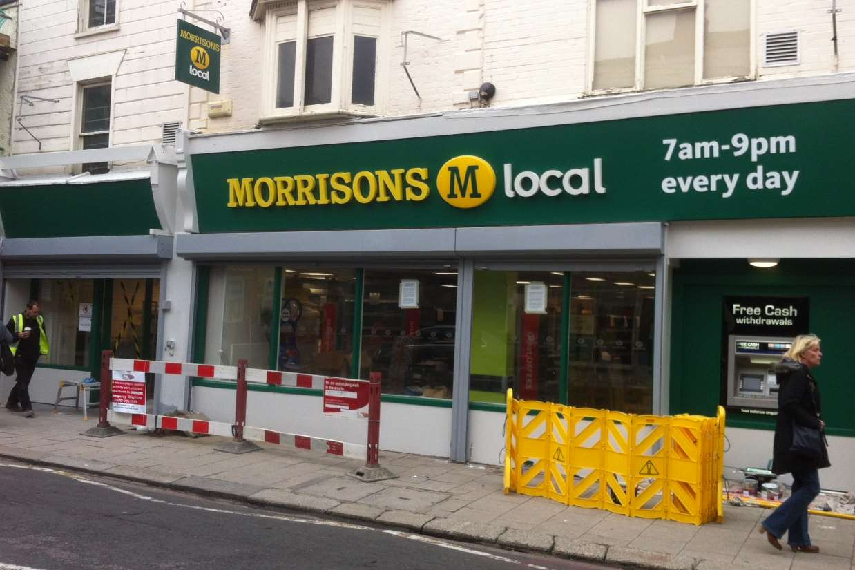 The new Morrisons in Whitstable