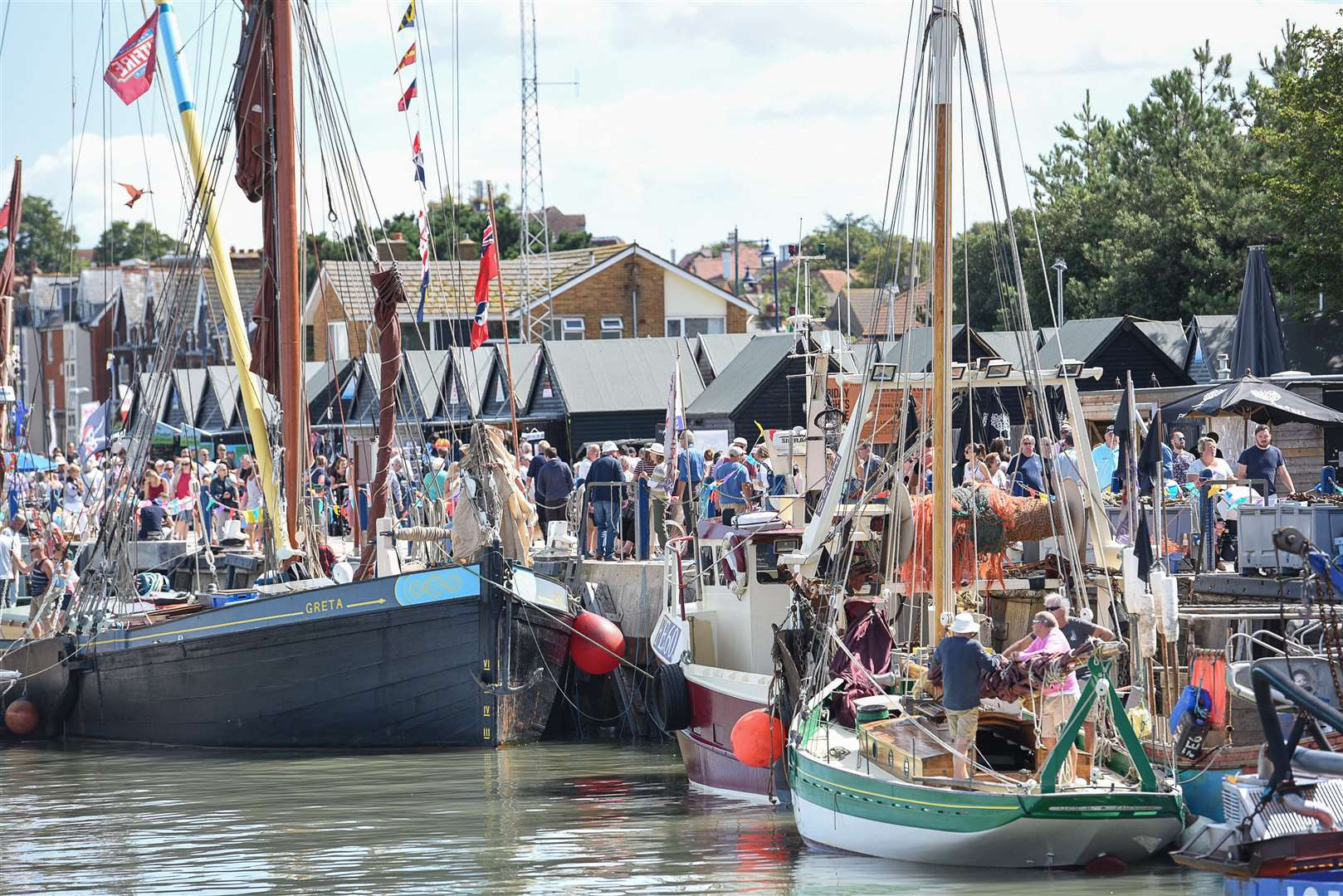 Whitstable Harbour Day has been cancelled this year. Picture: Alan Langley