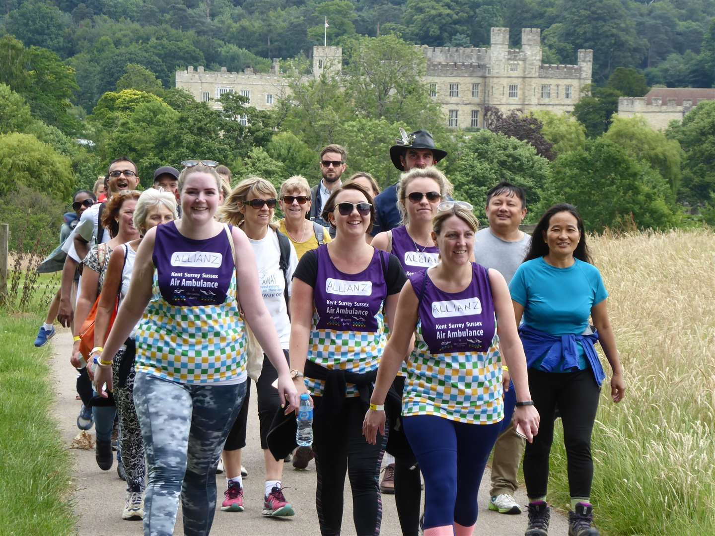 The KM Charity Walk links Mote House with Leeds Castle in Maidstone