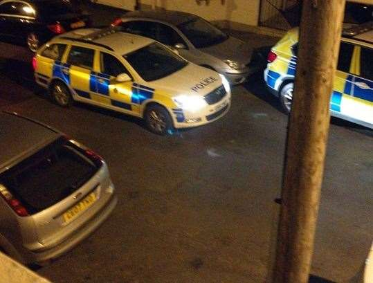 Man arrested after helicopter circles Medway and armed