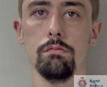 Stephen Campbell has been jailed. Picture: Kent Police