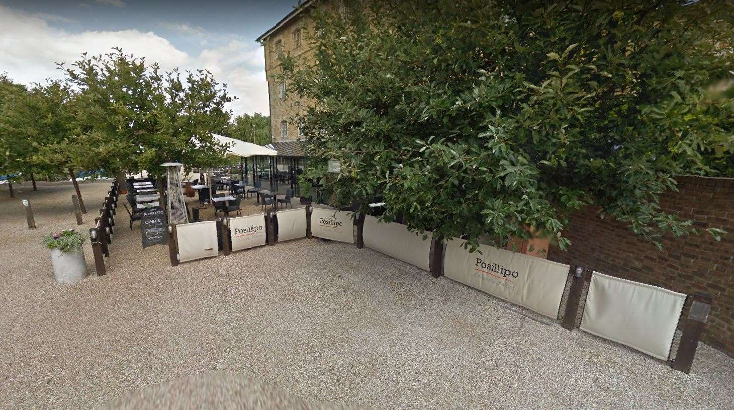 Posillipo in Faversham has been closed until further notice after a staff member contracted Covid.  Image: Google