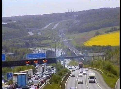 Accident m2 today