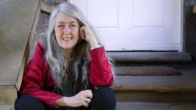 Mary Beard enjoyed fish and chips (4155224)