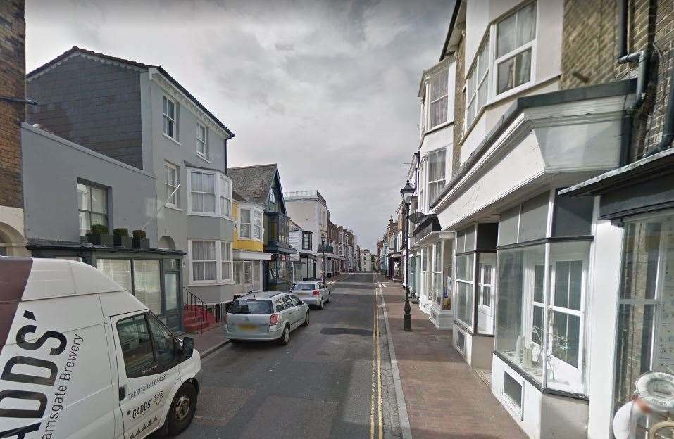 Mr Crow's body was found by his grandfather at his flat in Addington Street in Ramsgate. Picture: Google (10902571)