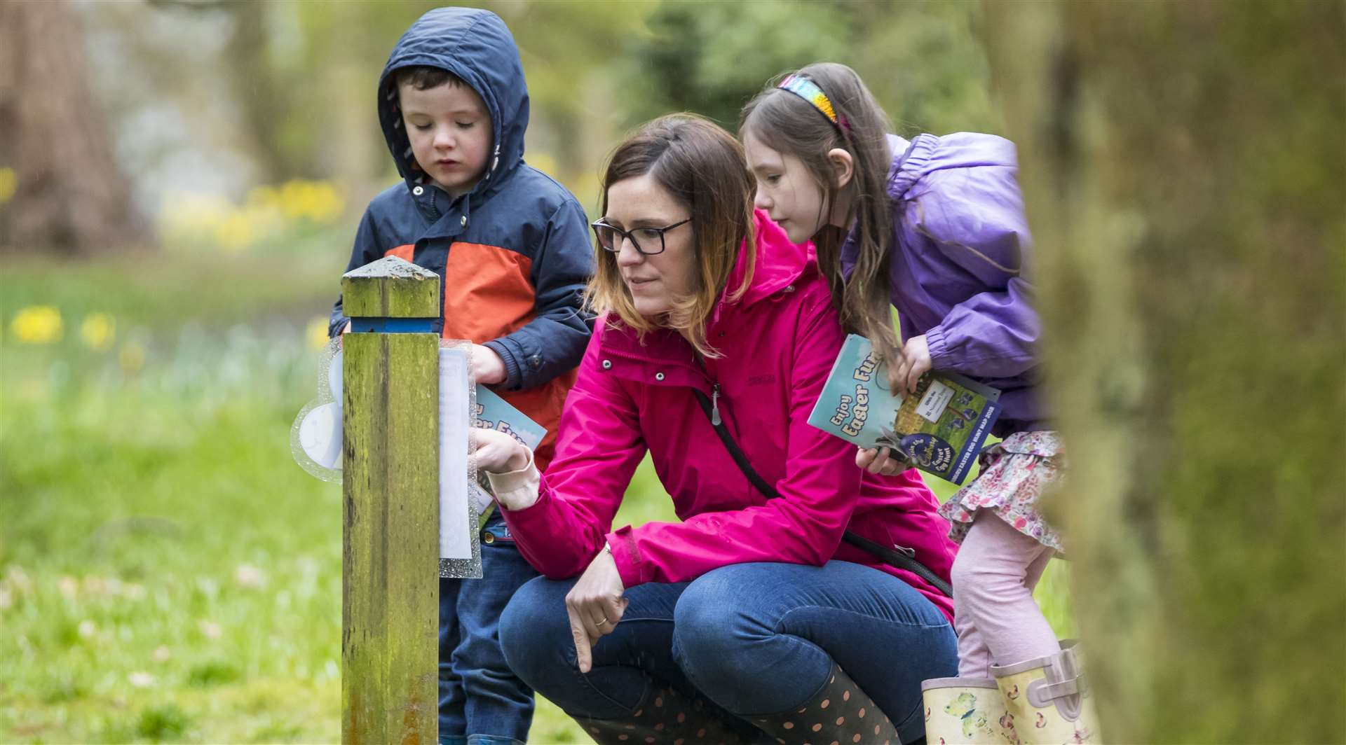 Head out on a Cadbury Easter egg hunt with the National Trust Picture: Chris Lacey