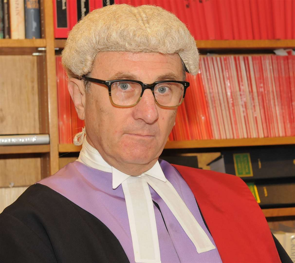 Judge David Griffith-Jones QC .Picture: Steve Crispe