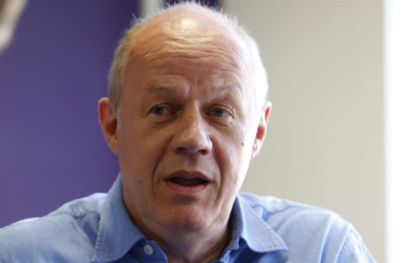 Damian Green thinks the idea of a super hospital is mad