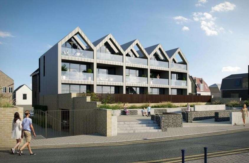 The eight new homes - three of them valued at £1.45m - are now being marketed for sale. Picture: Christopher Hodgson