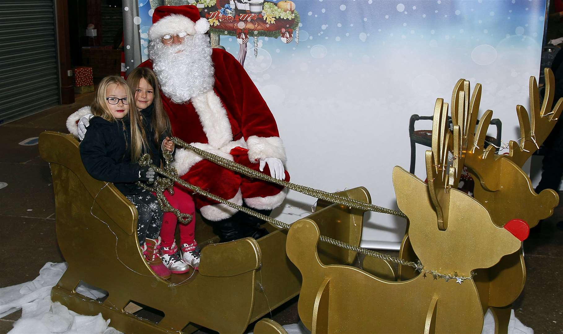 Santa will be popping along to Gravesend
