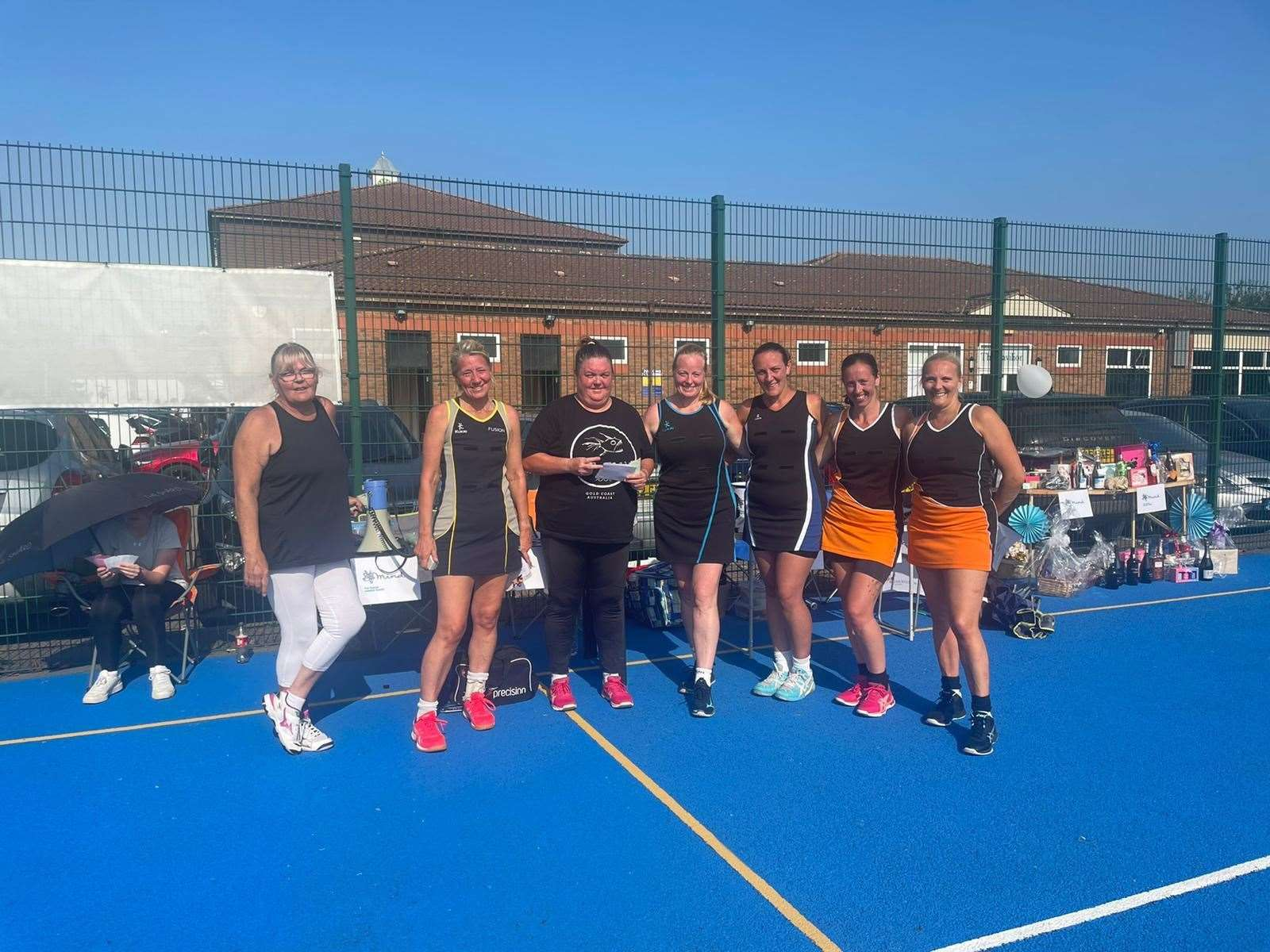 Whiteoak Netball League, Swanley hosted a charity rally for MIND.  Photo: Xavier Ayre
