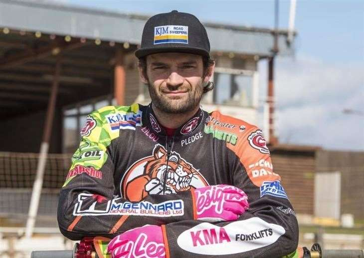 Danny Ayres had been set to race for Ipswich Witches in the 2020 season