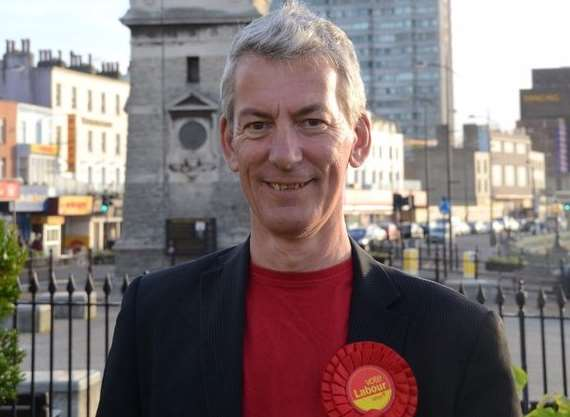 Ian Venables, Labour councillor for Margate Central