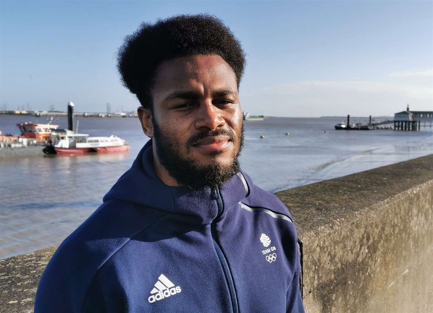 Gravesend boxer Cheavon Clarke was hoping to box in Tokyo this year