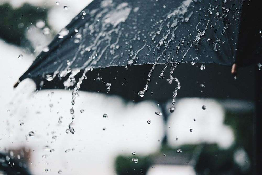 The Met Office has issued a yellow weather warning for rain on Sunday. Stock picture