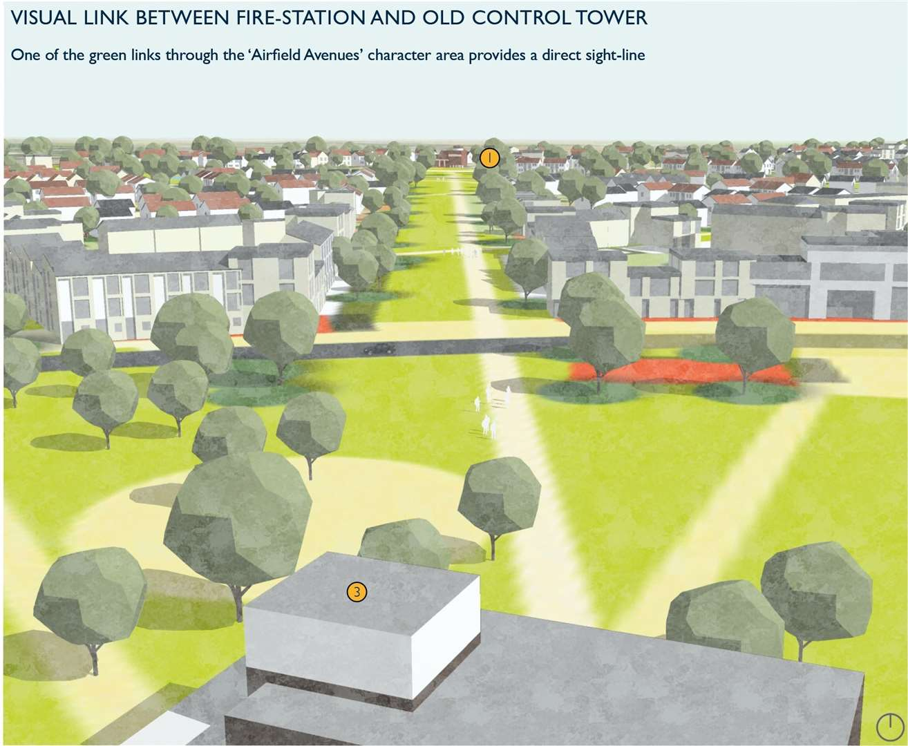 Artists impressions released by Stone Hill Park revealed their vision for housing and business at Manston