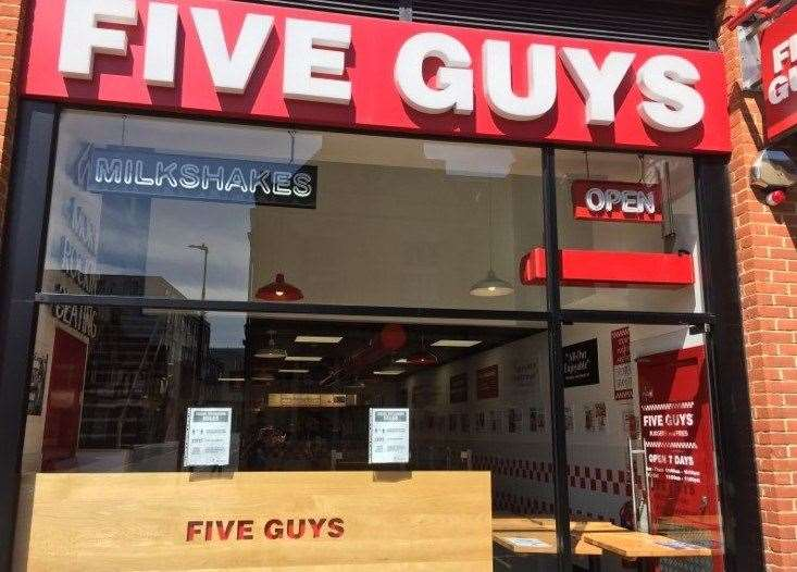 Five Guys in Maidstone