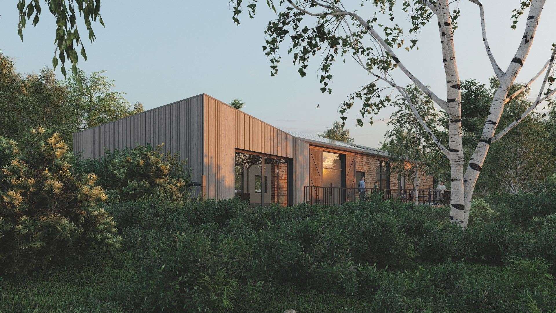 There are plans to improve the Sevenoaks Kent Wildlife Trust centre
