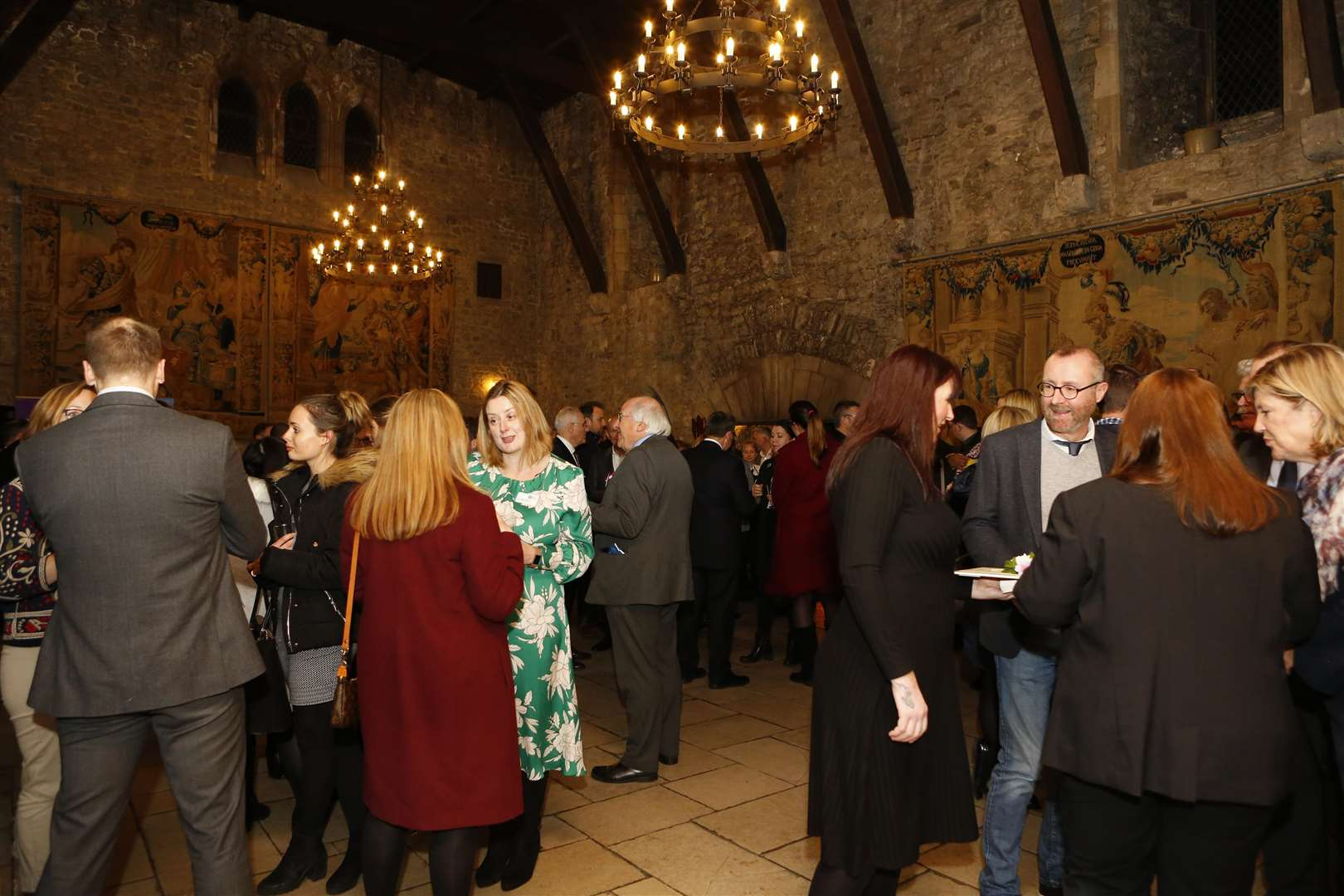 KEiBA 2019 launch event took place at Allington Castle near Maidstone. Picture: Andy Jones