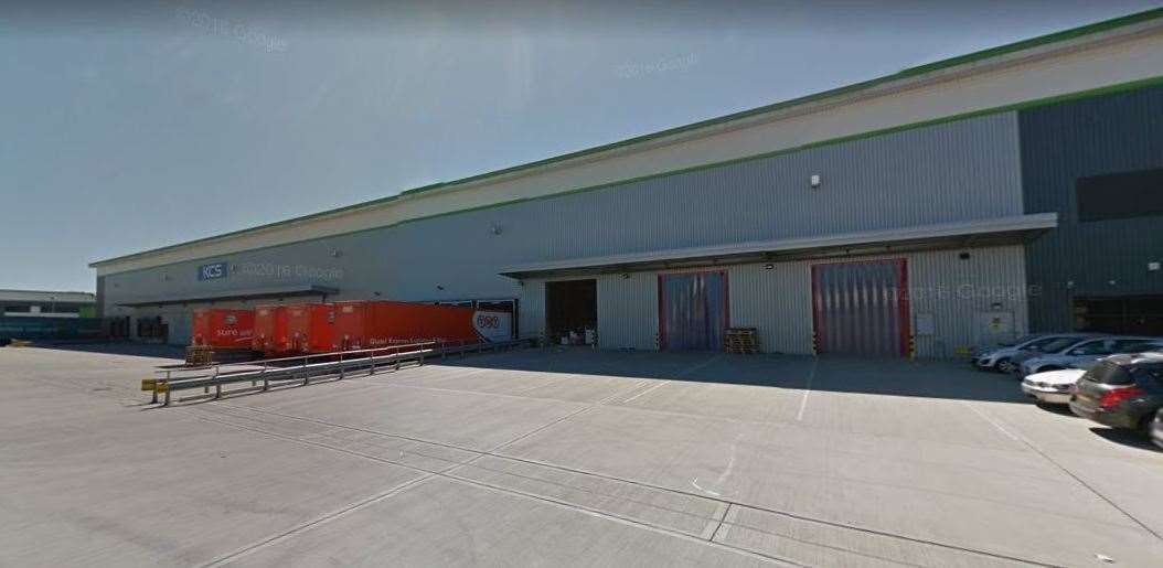 The Kent Commercial Services Group depot in New Hythe Lane, Aylesford. Picture: Google Street View